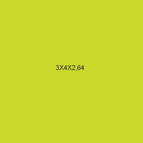 """3x4x2,64"""